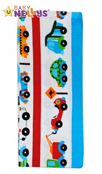 Flanelová přebalovací plenka na cesty - 50x60cm - chlapecké barvy