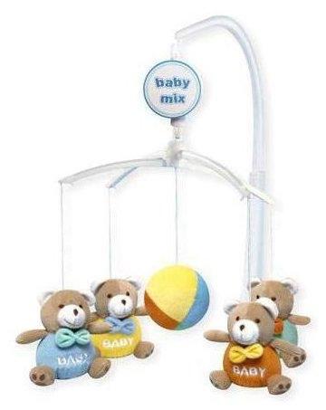 Kolotoč nad postýlku BABY MIX - MEDVÍDCI BABY