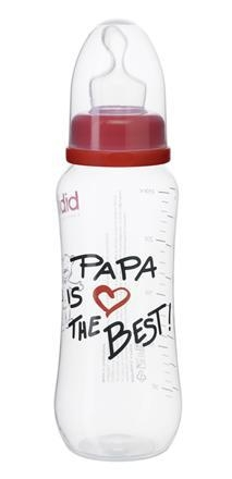 Bibi Kojenecká láhev Papa is the best 250 ml