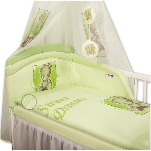 Povlečení  Sweet Dreams by Teddy  - zelený