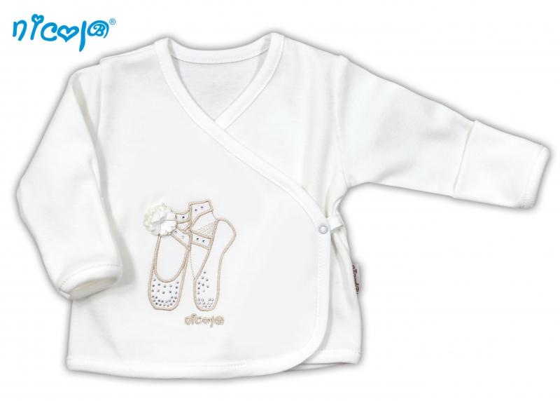 Bavlněná košilka NICOL BALETKA - smetanová