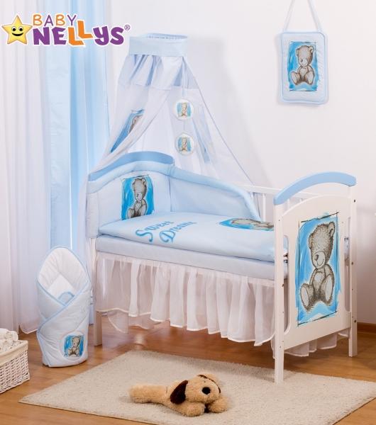Baby Nellys Šifónová nebesa Sweet Dreams by TEDDY - modré/bílé