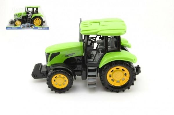 Traktor plast 33cm na setrvačník v krabičce