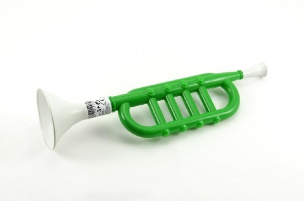 Trumpeta plast 34cm 3+