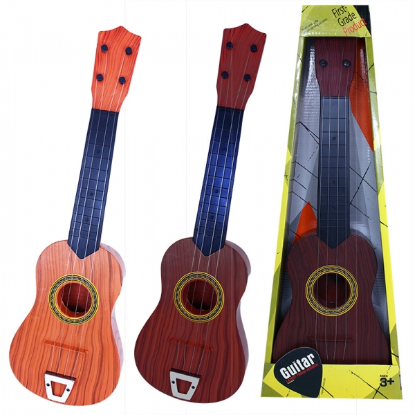 Kytara akustická, dětská, 2 druhy (1 ks, mix barev dodání dle externího skladu)