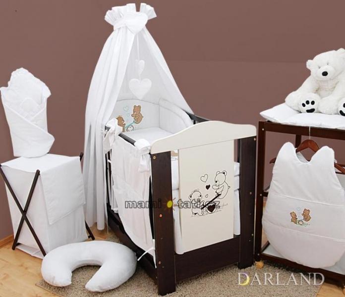 Luxusní 5D set  výšivka CL - Méďové v bílé
