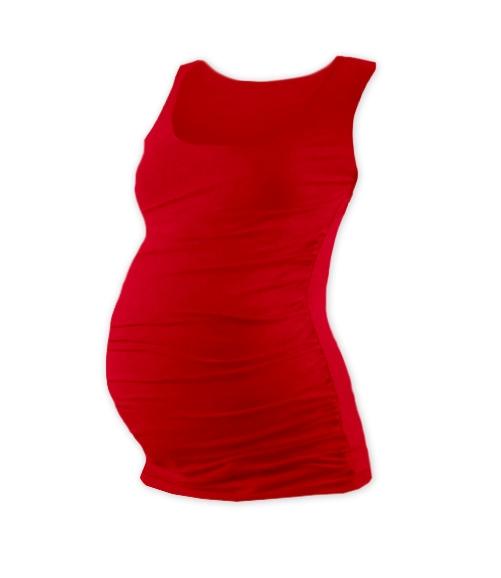 JOŽÁNEK Těhotenský top JOHANKA - červená