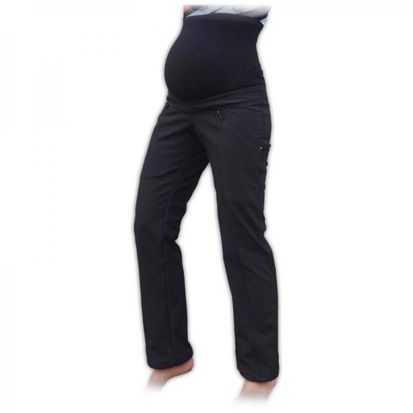 JOŽÁNEK Sportovní těhotenské oteplené softshellové kalhoty