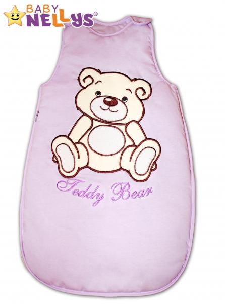 Spací vak Teddy Bear,  Baby Nellys - lila vel. 1