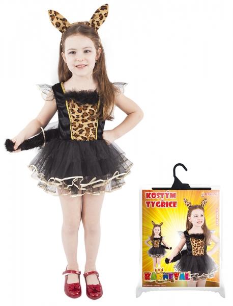 Karnevalový kostým tygřice,vel. M