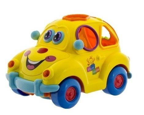 Euro Baby Autíčko Intelligent Fruit Car - žluté