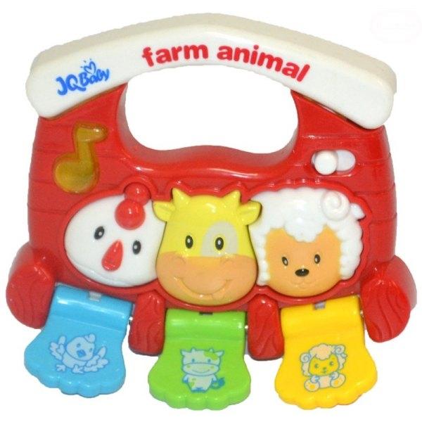 Euro Baby Interaktivní hračka s melodii - Malá farma