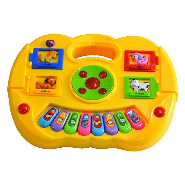 Euro Baby Edukační hrající hračka - žlutá