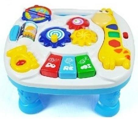 Euro Baby Dětský hrající stoleček - Žirafka