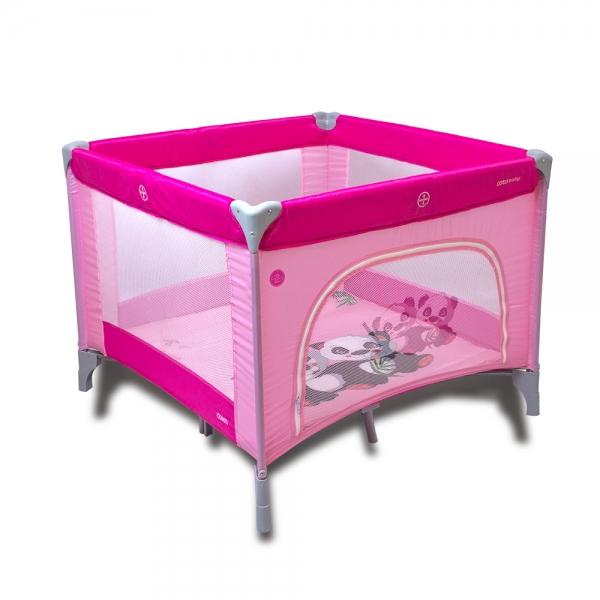 Skládací ohrádka Conti - růžová - PANDA
