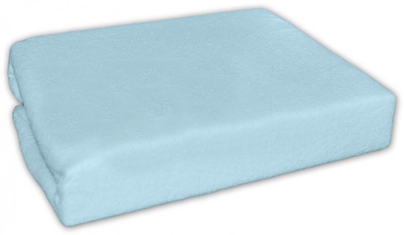 Baby Nellys jersey prostěradlo modré 90x90cm