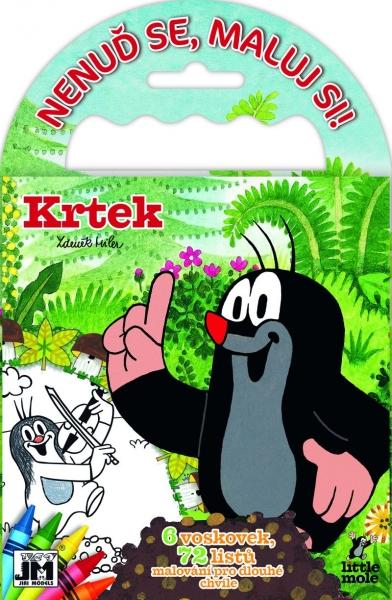 Omalovánka na cesty Krtek - 1 ks