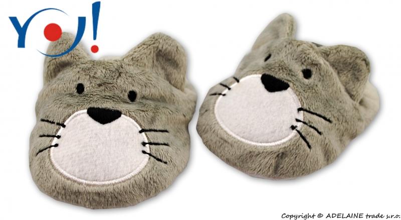 Botičky/capáčky YO! Zvířátka - Kočička
