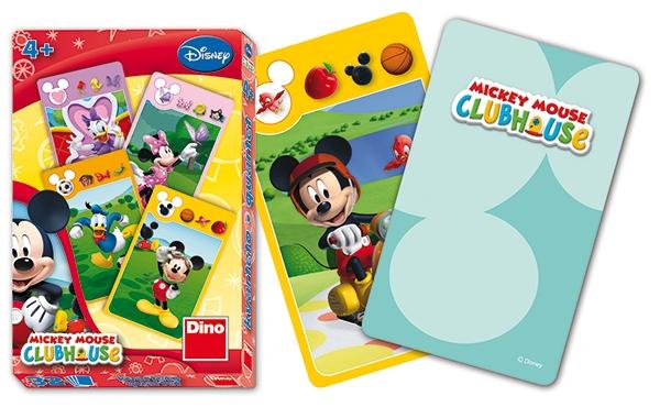 Karty kvarteto Mickey Mouse, Mickeyho klubík