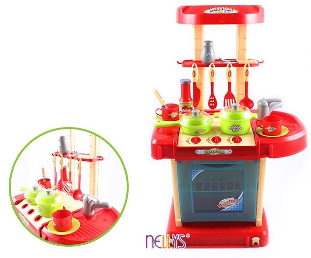 Dětská kuchyňka s příslušenstvím (Dětská kuchyňka s příslušenstvím)