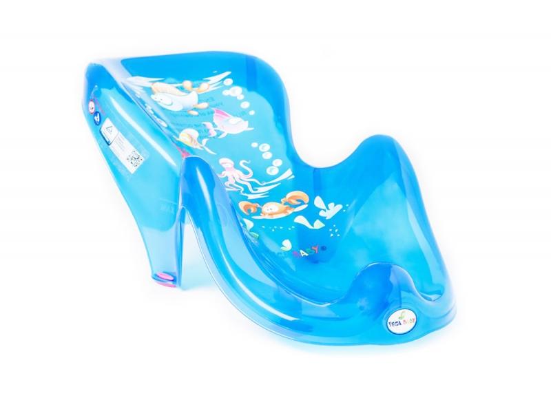 TEGA BABY - Lehátko plastové do vaničky - AQUA
