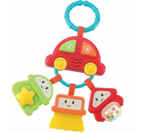 Edukační hračka Autíčko s klíčky Smily Play