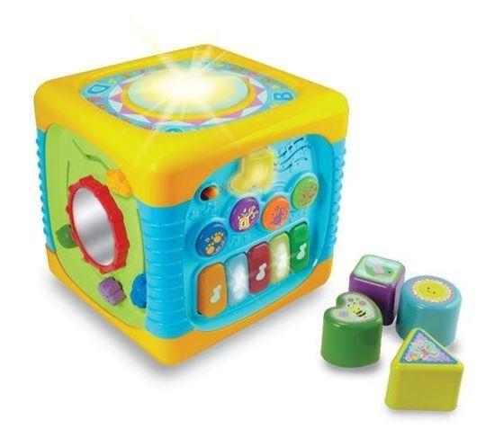 Edukační hračka Kostka Smily Play