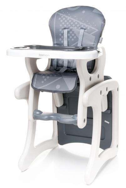Jídelní stoleček 4 Baby Fashion 2017 - šedý