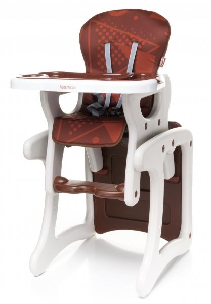 Jídelní stoleček  4 Baby Fashion 2017 - hnědý