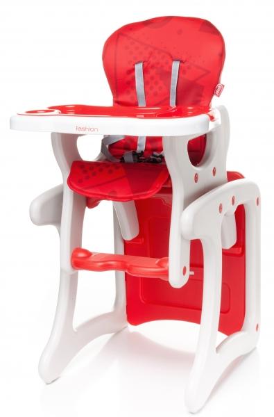 Jídelní stoleček 4 Baby Fashion 2017 -  červený