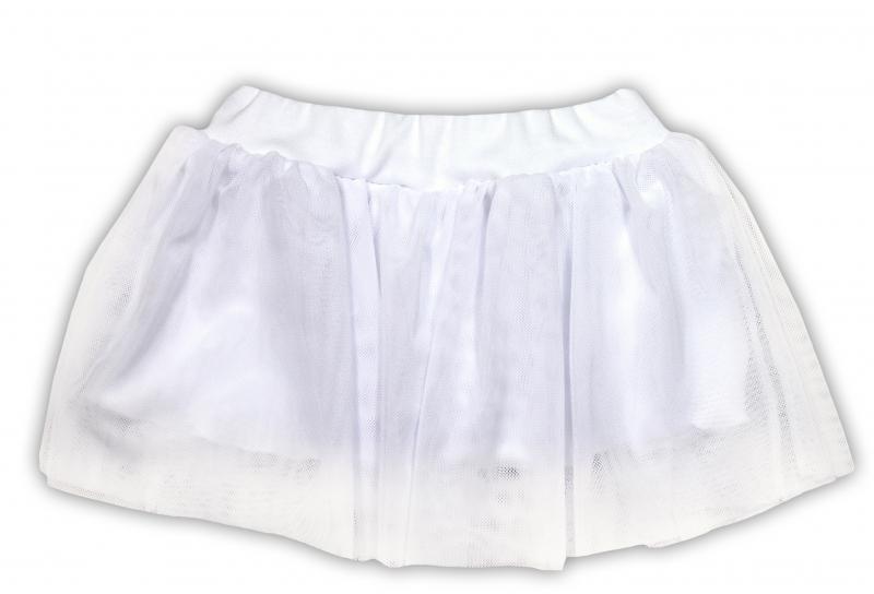 Tutu suknička NICOL PŘÁTELÉ - BIO bavlna - smetanová