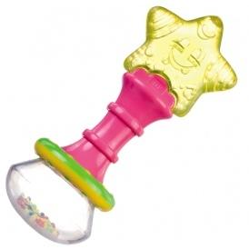Chladící kousátko s chrastítkem  Canpol Babies - kouzelnická hůlka - Kod: 2/228 , Canpol Babies, barva: žlutá hvězdička