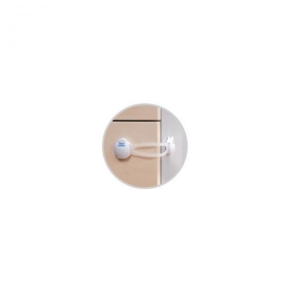 Multifunkční uzávěr dlouhý Canpol Babies - 2 ks - bílý