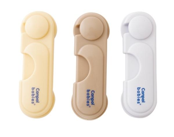 Uzávěr skřínek Canpol Babies - 1 ks - bílý