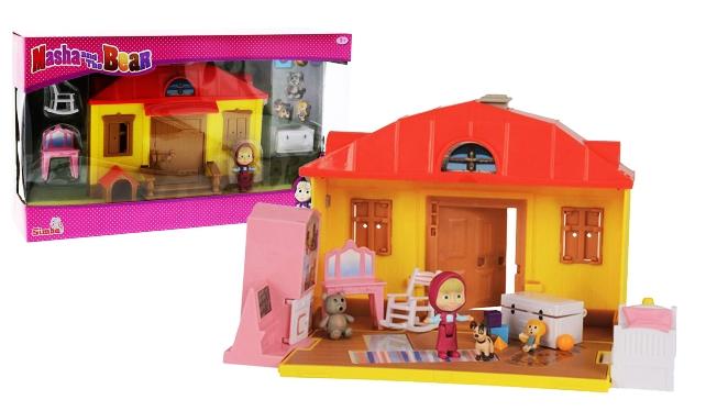 Dům s nábytkem Máša a medvěd