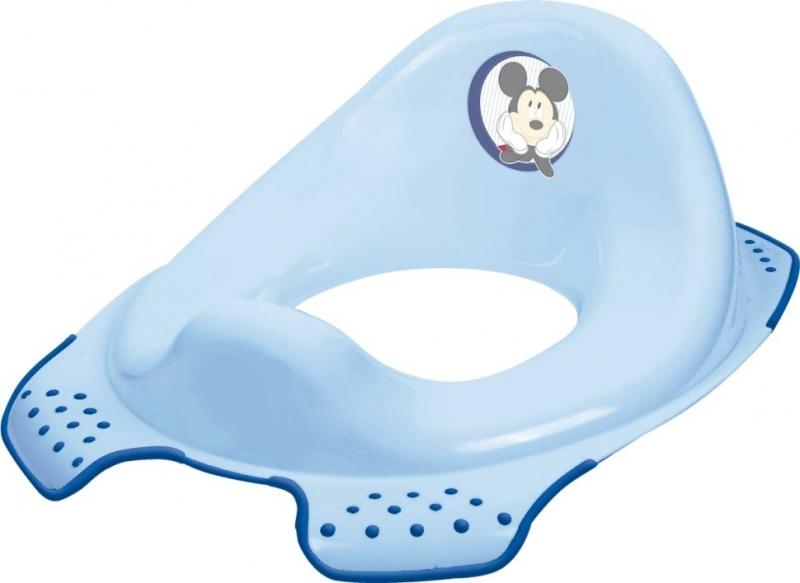 Adaptér - treningové sedátko na toaletu Mickey Mouse  - modrý