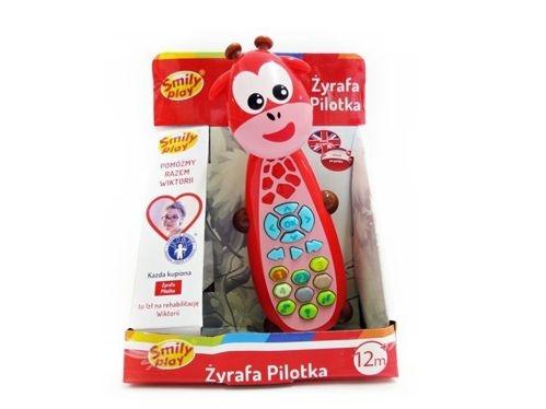 Edukační hračka Telefon Žirafka  Smily Play