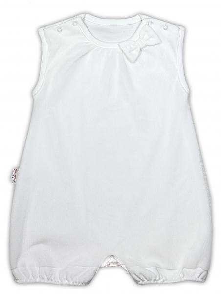 Sukničkobody NICOL PŘÁTELÉ s mašličkou - BIO bavlna - na ramínka - smetanové, Velikost: 68 (4-6m)