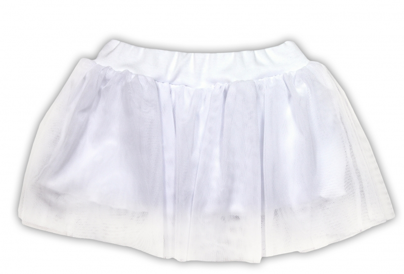 Tutu suknička NICOL PŘÁTELÉ - BIO bavlna - smetanová, Velikost: 98 (24-36m)