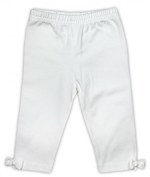 Leginy NICOL PŘÁTELÉ s mašličkou - BIO bavlna - smetanové, Velikost: 98 (24-36m)