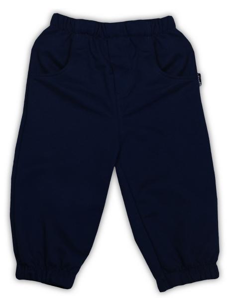 Tepláčky/kalhoty NICOL PIRÁTI - tmavě modrá, Velikost: 80 (9-12m)