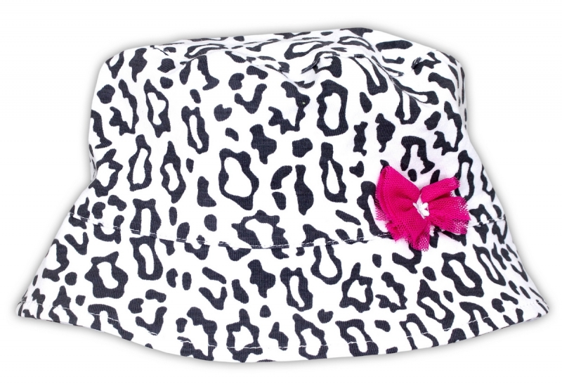 Jarní/letní klobouček NICOL GEPARDÍK, Velikost: 56 (1-2m)