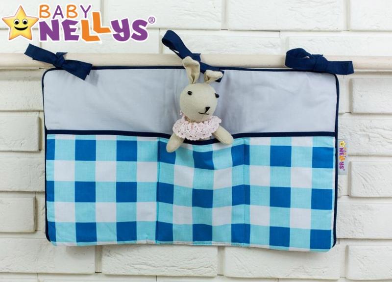 Praktický kapsář na postýlku Baby Nellys ® - č. 19