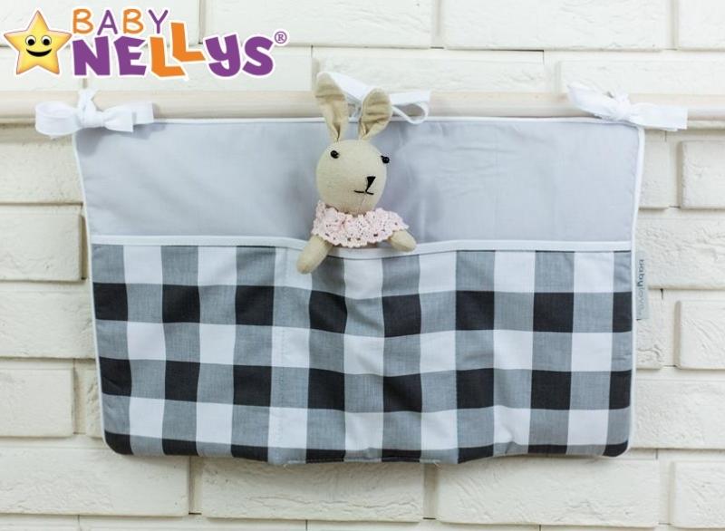 Praktický kapsář na postýlku Baby Nellys ® - č. 21