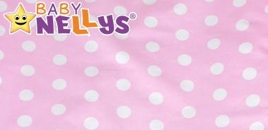 Bavlněné prostěradlo - Bubble retro růžové