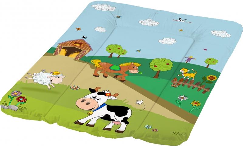 Keeeper Přebalovací podložka Funny Farm - měkká, kravička