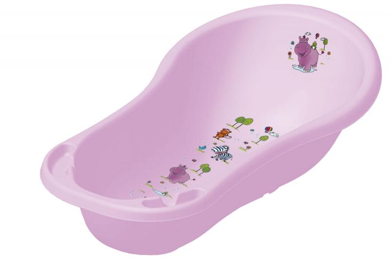 Dětská vanička Hippo 100 cm - Fialová