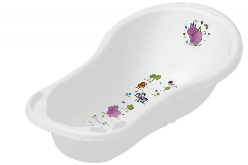 Keeeper Dětská vanička Hippo 100 cm - Bílá
