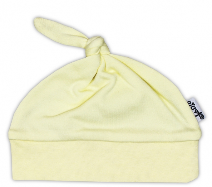 Čepička NICOL - žlutá, Velikost: 52