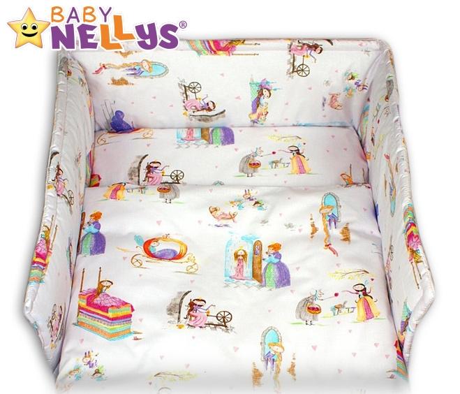 Mantinel s povlečením Baby Nellys ® - Princezna